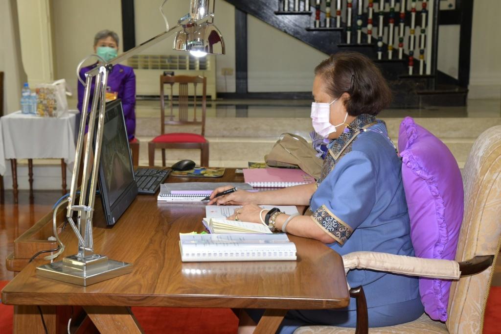 the 341st Virtual Thai Red Cross Council Meeting