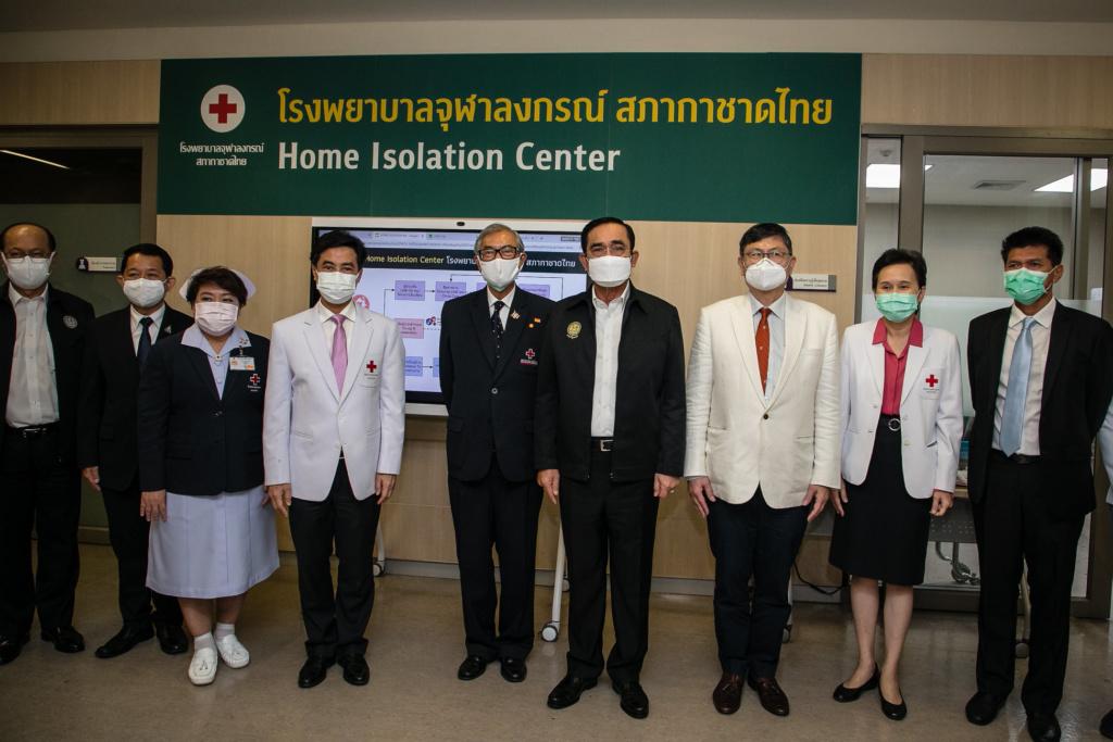 Prime Minister Prayut Chan-o-cha Visits King Chulalongkorn Memorial Hospital